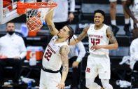rutgers basketball dunk