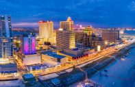 atlantic city boardwalk panorama night