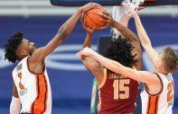 college basketball blocked shot