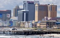 atlantic city with trump tower